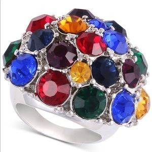Guess vibrant color ring